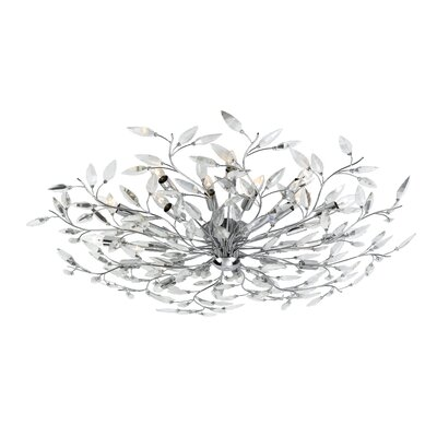 Felina 24-Light Semi Flush Mount