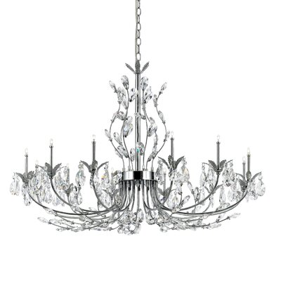 Gissele 12 Light Crystal Chandelier
