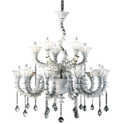 Firolia 18-Light Candle-Style Chandelier