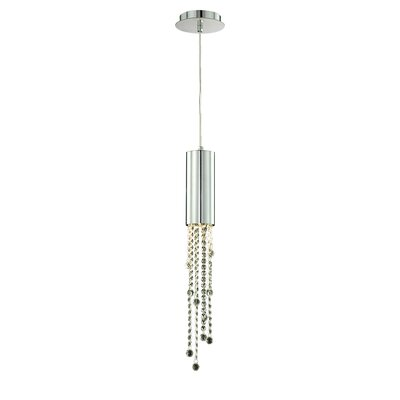 Groove 1-Light Pendant Size: Small