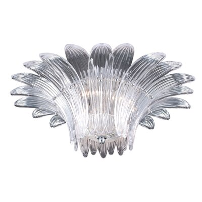Fiore 3-Light Flush Mount