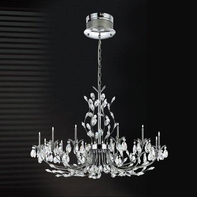 Gissele 12 Light Crystal Chandelier