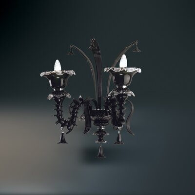 Orillia 2-Light Candle-Style Chandelier