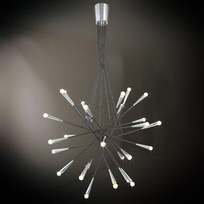 Zazu 28-Light Sputnik Chandelier