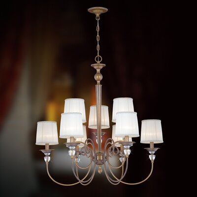Locksley 9-Light Candle-Style Chandelier