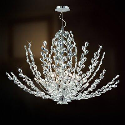 Filigree 12-Light Cluster Pendant