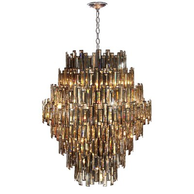 Versha 28-Light Crystal Chandelier