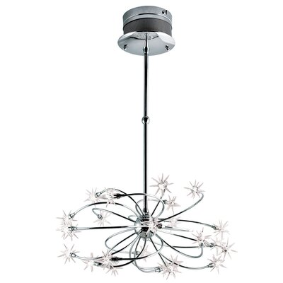 Starburst 24-Light Cluster Pendant