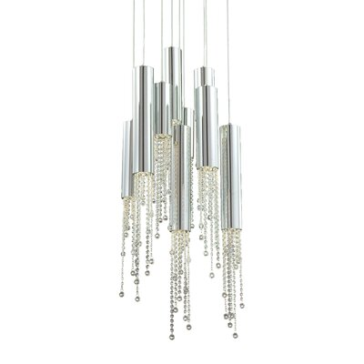 Groove 9-Light Pendant