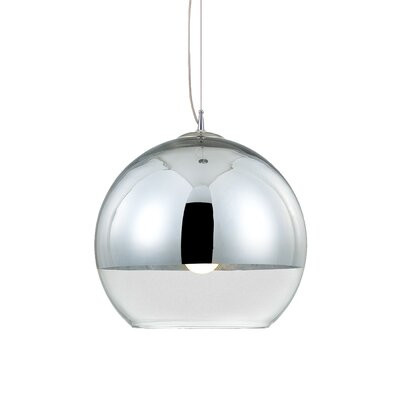 Chromos 1-Light Pendant Size: Small