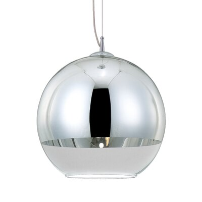 Chromos 1-Light Pendant Size: Medium