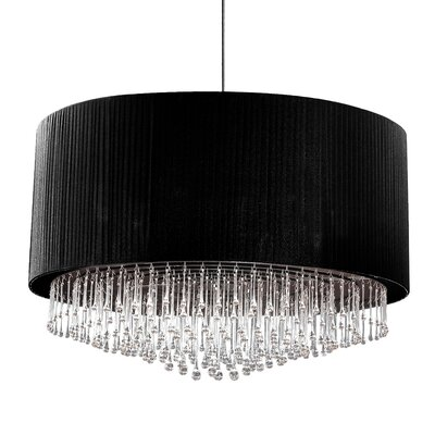 Penchant 12-Light Drum Pendant