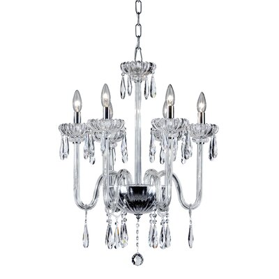 Villa 6-Light Crystal Chandelier