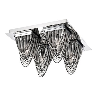 Wasaga 4-Light Flush Mount