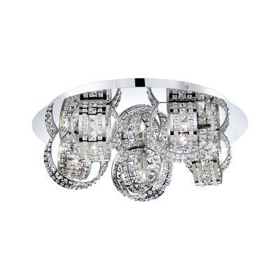 Yorkville 5-Light Flush Mount