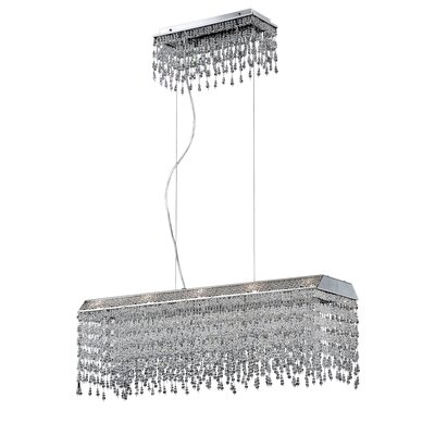 Fonte 10-Light Crystal Pendant