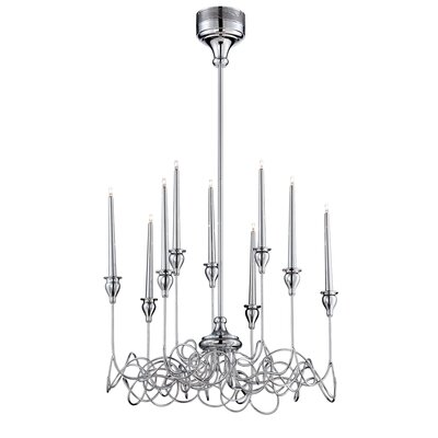 Candela 9-Light Candle-Style Chandelier