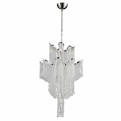 Ellena 12-Light Waterfall Chandelier