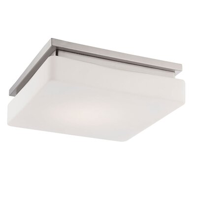 Ellsworth 1-Light Flush Mount Finish: Nickel