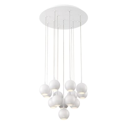 Patruno 14-Light Waterfall Chandelier
