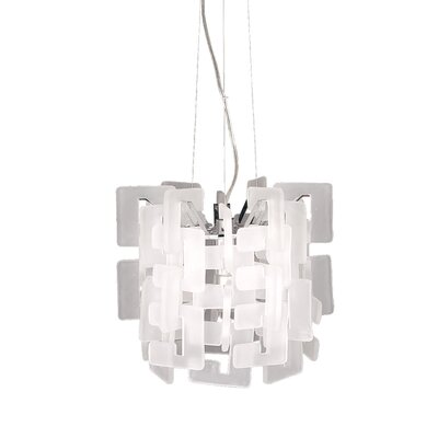 Numero 1-Light Mini Pendant