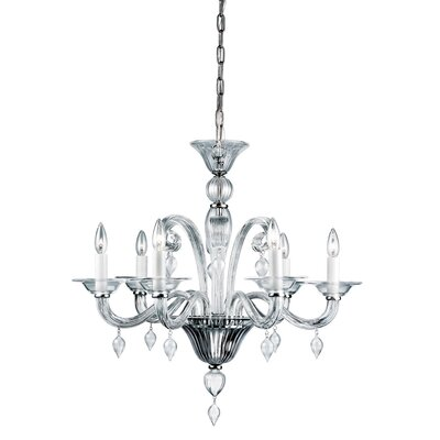 Ciatura 6-Light Candle-Style Chandelier