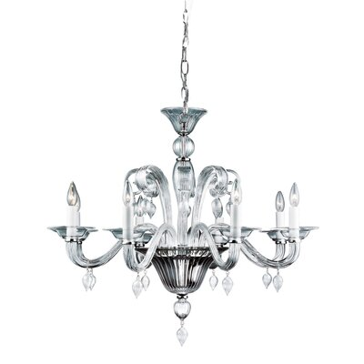 Ciatura 8-Light Candle-Style Chandelier