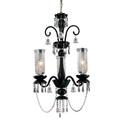 Mariah 3-Light Candle-Style Chandelier
