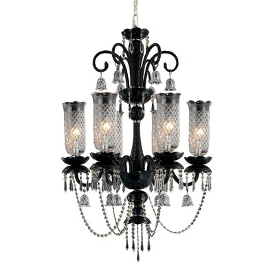 Mariah 6-Light Candle-Style Chandelier
