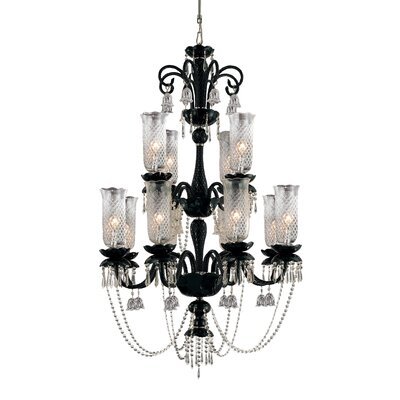 Mariah 12-Light Candle-Style Chandelier