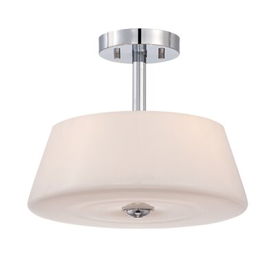 Enza 3-Light Semi Flush Mount