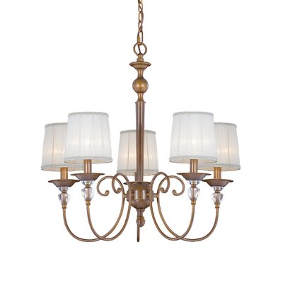 Locksley 5-Light Candle-Style Chandelier