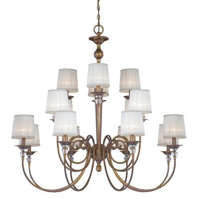 Locksley 16-Light Candle-Style Chandelier