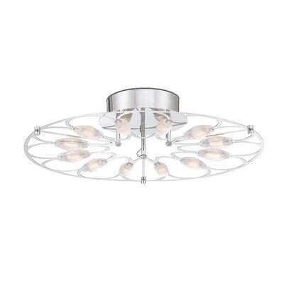 Sudduth 12-Light LED Semi Flush Mount
