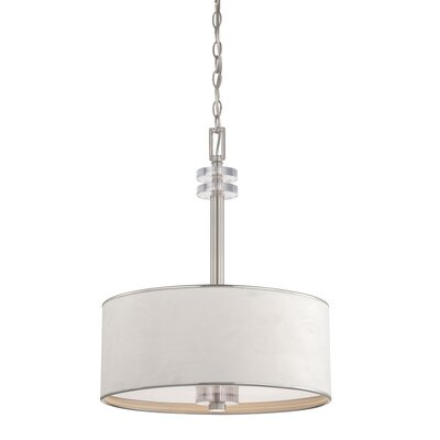 Savvy 3-Light Drum Pendant