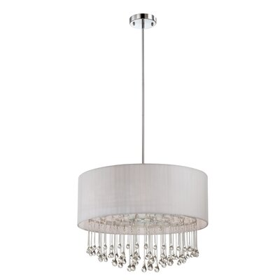 Penchant 6-Light Drum Pendant