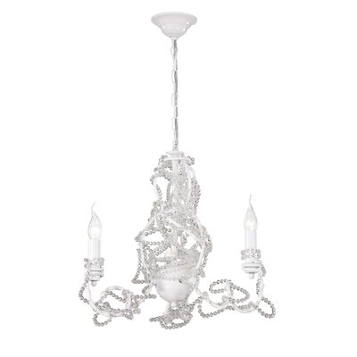 Fantasia 3-Light Candle-Style Chandelier