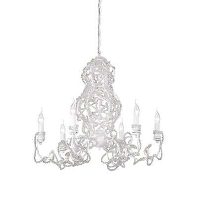 Fantasia 6-Light Crystal Chandelier