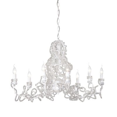 Fantasia 8-Light Candle-Style Chandelier