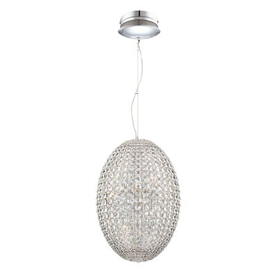 Encore 9-Light Foyer Pendant Size: Medium