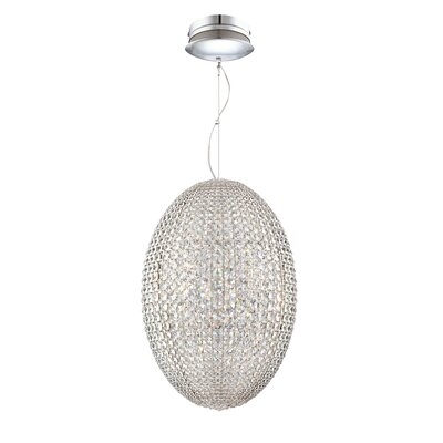 Encore 9-Light Foyer Pendant Size: Large