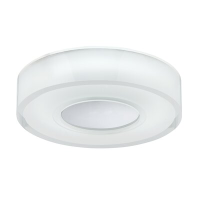 Spirit 1-Light Flush Mount Size: 2 H x 9 W x 9 D
