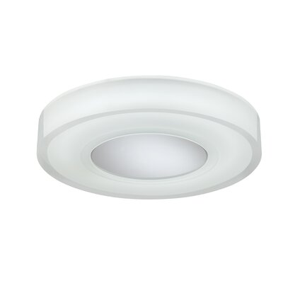 Spirit 1-Light Flush Mount Size: 2 H x 13.25 W x 13.25 D