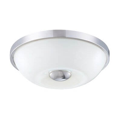 Motion 1-Light Flush Mount Size: 3 H x 10.75 W x 10.75 D