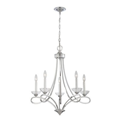 Volte 5-Light Candle-Style Chandelier