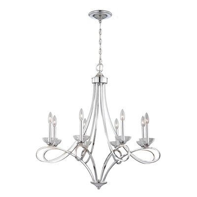 Volte 8-Light Candle-Style Chandelier