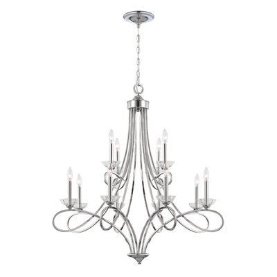 Volte 12-Light Candle-Style Chandelier