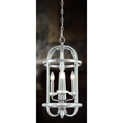 Senze 3-Light Foyer Pendant