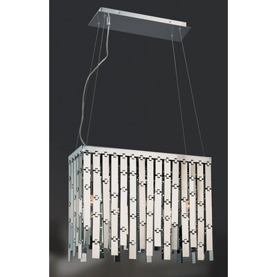 Sensational Convertible 3-Light Foyer Pendant