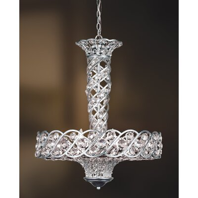 Catara 9-Light Crystal Pendant